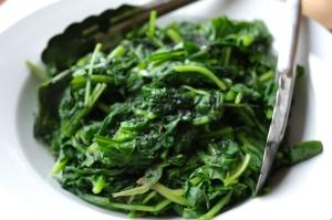 alimentos antioxidantes espinacas